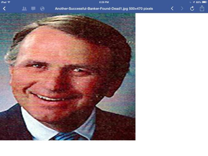 Banker #9 Found DEAD